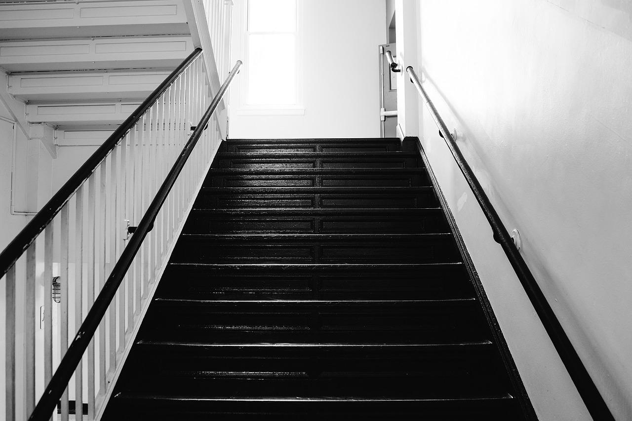 stair, steps, stairway