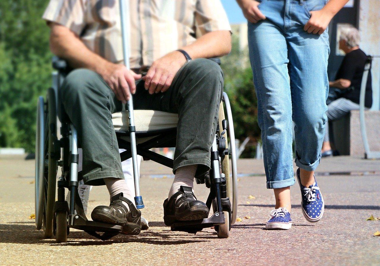 wheelchair, disabled, pram